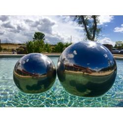 Sphère inox