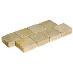 Pavé béton rustique 12,5 x 12,5 x 4,5 cm