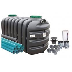 Kit fosse PVC 3000 L