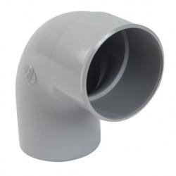 Coude PVC M/F 87°30