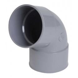 Tube d'évacuation PVC 67°30