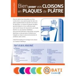 FICHE CONSEIL Bien poser vos cloisons en plaques de plâtre